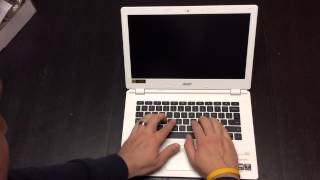Acer Chromebook 13 Unboxing