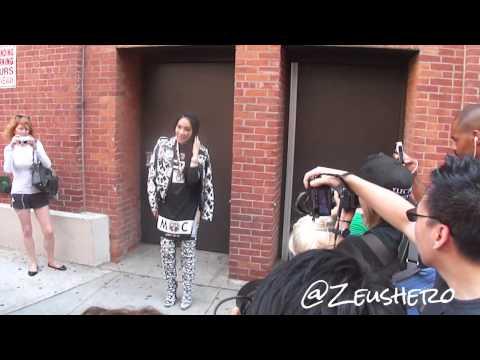 CL 2NE1 arriving for Jeremy Scott Fashion Show @ Milk Studios NYC 20130911