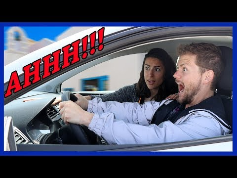 GIRLFRIEND ATTEMPTS TO TEACH ME STICK SHIFT…AND IT GOES HORRIBLY WRONG