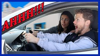 GIRLFRIEND ATTEMPTS TO TEACH ME STICK SHIFT AND IT GOES HORRIBLY WRONG