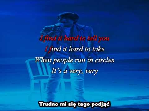 Adam Lambert - Mad World Videoroke ful version lyrics