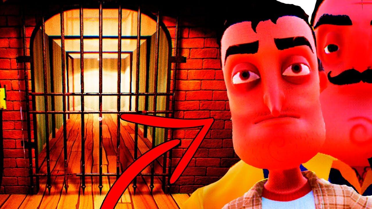 СЕКРЕТНЫЙ ОГРОМНЫЙ ЛАБИРИНТ - ЛИЦО ГЛАВНОГО ГЕРОЯ - ТАЙНАЯ КОНЦОВКА - Секреты Hello Neighboor #10