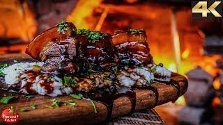 Szechuan Red Braised Pork Belly - 4K Hong Shao Rou