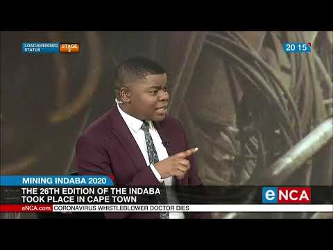 NUM Talk On 2020 African Mining Indaba