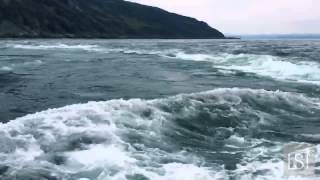 Corryvreckan whirlpool, in Scotland - sailing into the world