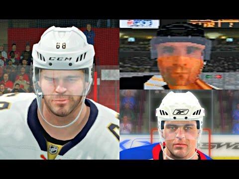 Jaromir Jagr Player Progression from NHL Hockey 1992 to NHL 17! #PIT #PS4