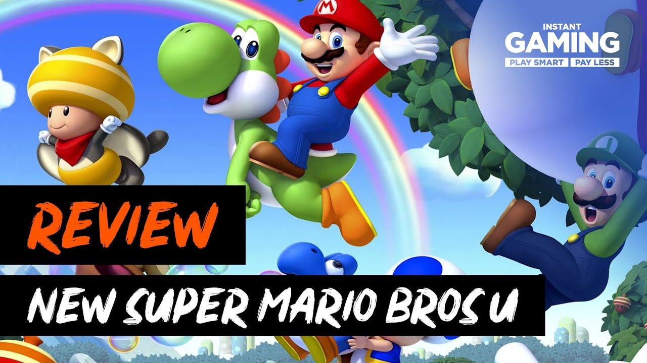 New Super Mario Bros U Deluxe Review Youtube