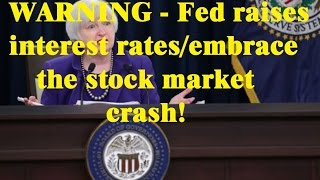stocks on the edge of a cliff - what does the interest rate hike mean for stocks