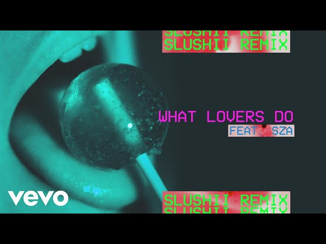 Maroon 5 - What Lovers Do (Slushii Remix/Audio) ft. SZA