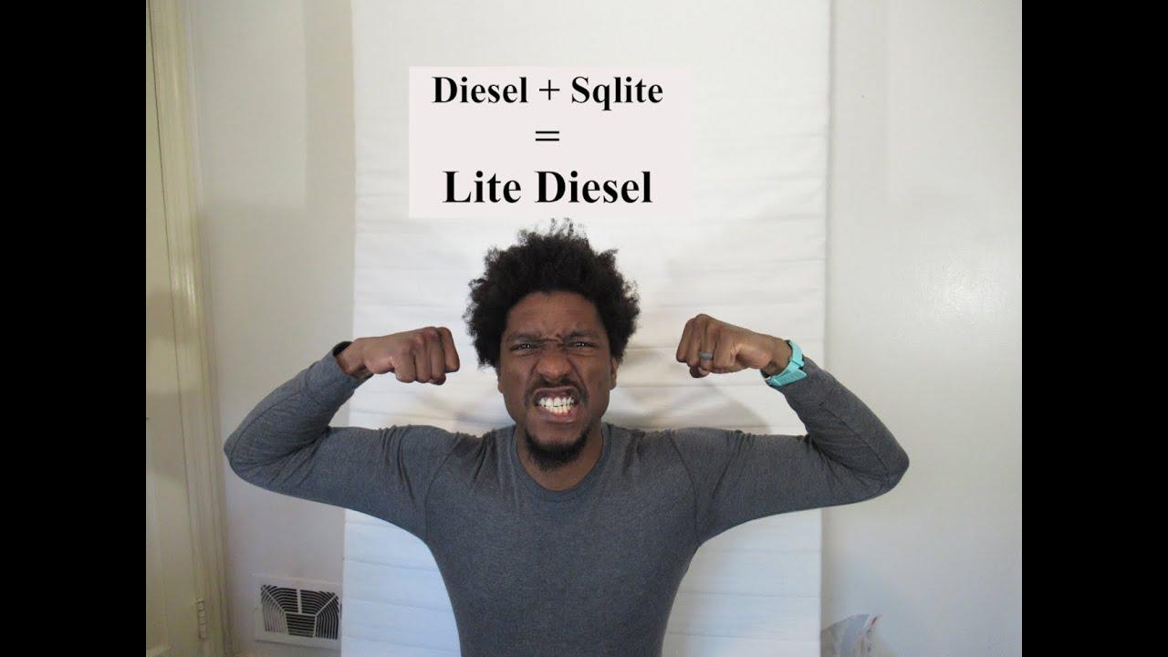 Rust: Diesel tutorial with Sqlite