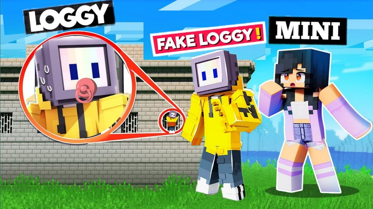 😱FAKE LOGGY KIDNAPPED BABY LOGGY AND IN MINECRAFT | Chapati Hindustani Gamer | Minecraft