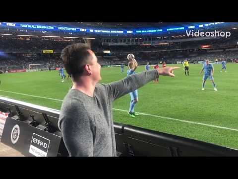 HOW I ENDED UP MANAGING NEW YORK CITY FC