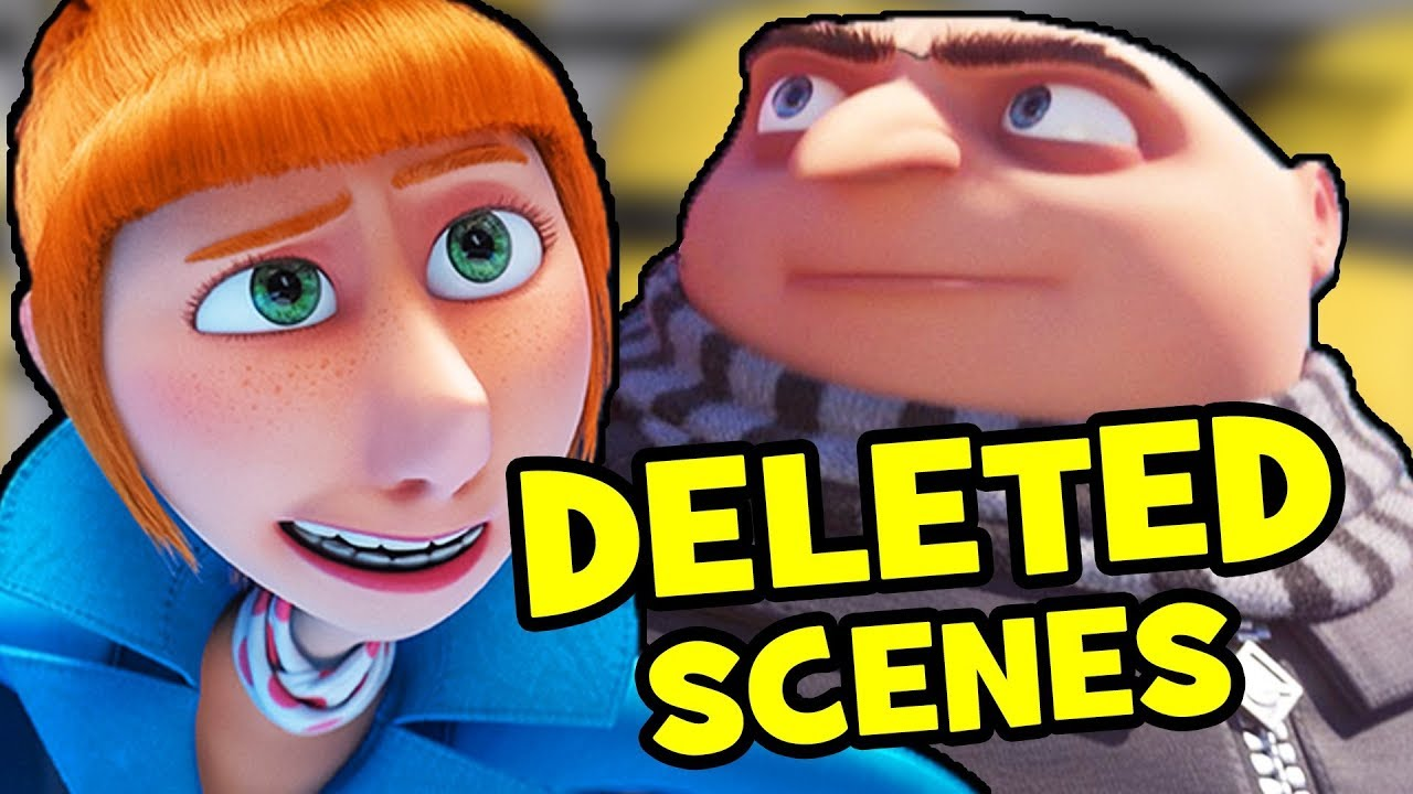 Despicable Me 3 Deleted Scenes Rejected Concepts Youtube