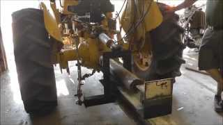 Homemade Three Point Log Splitter Pt1