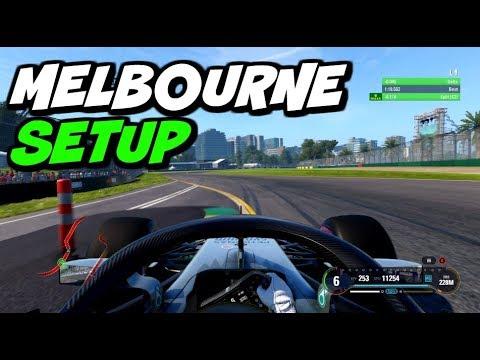 F1 2018 MELBOURNE HOTLAP + SETUP (1:19.313)