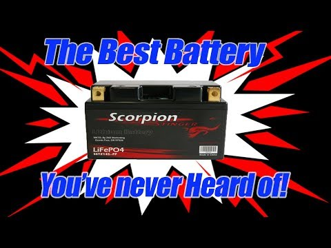 The Best Motorcycle Lithium Ion Battery You've Never Heard of!