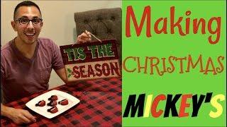 CHRISTMAS MICKEY MOUSE TREATS