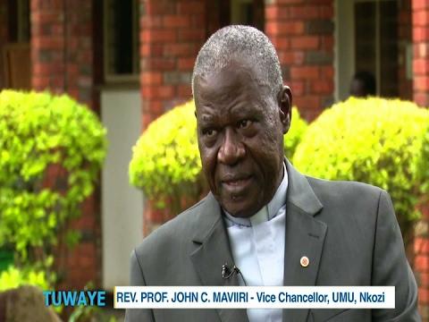TUWAYE: Rev Prof. John C. Maviri, Vice-Chancellor UMU Nkozi