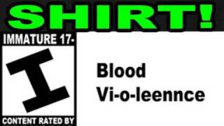 Halo Reach Literal Trailer Blood Violence Shirts!! (laziest vlog series ever)