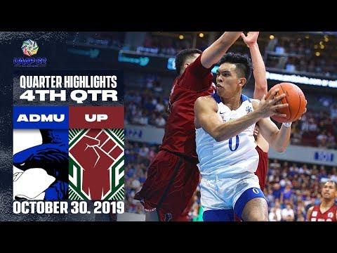ADMU Vs. UP - October 30, 2019 | 4th Quarter Highlights | UAAP 82 MB