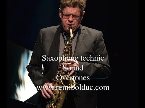 #02 Saxophone Technic : Sound - Overtones