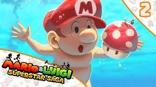 ESTE JUEGO NO TIENE SENTIDO | Mario & Luigi SuperStar Saga #2 ESPAÑOL