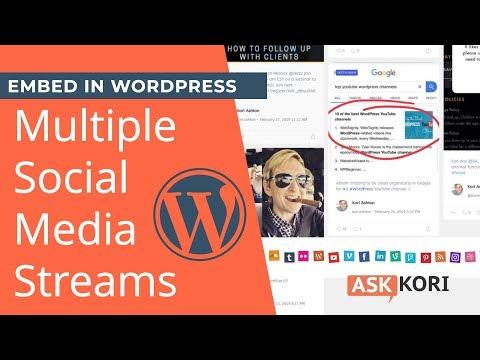 Feed links extra wordpress