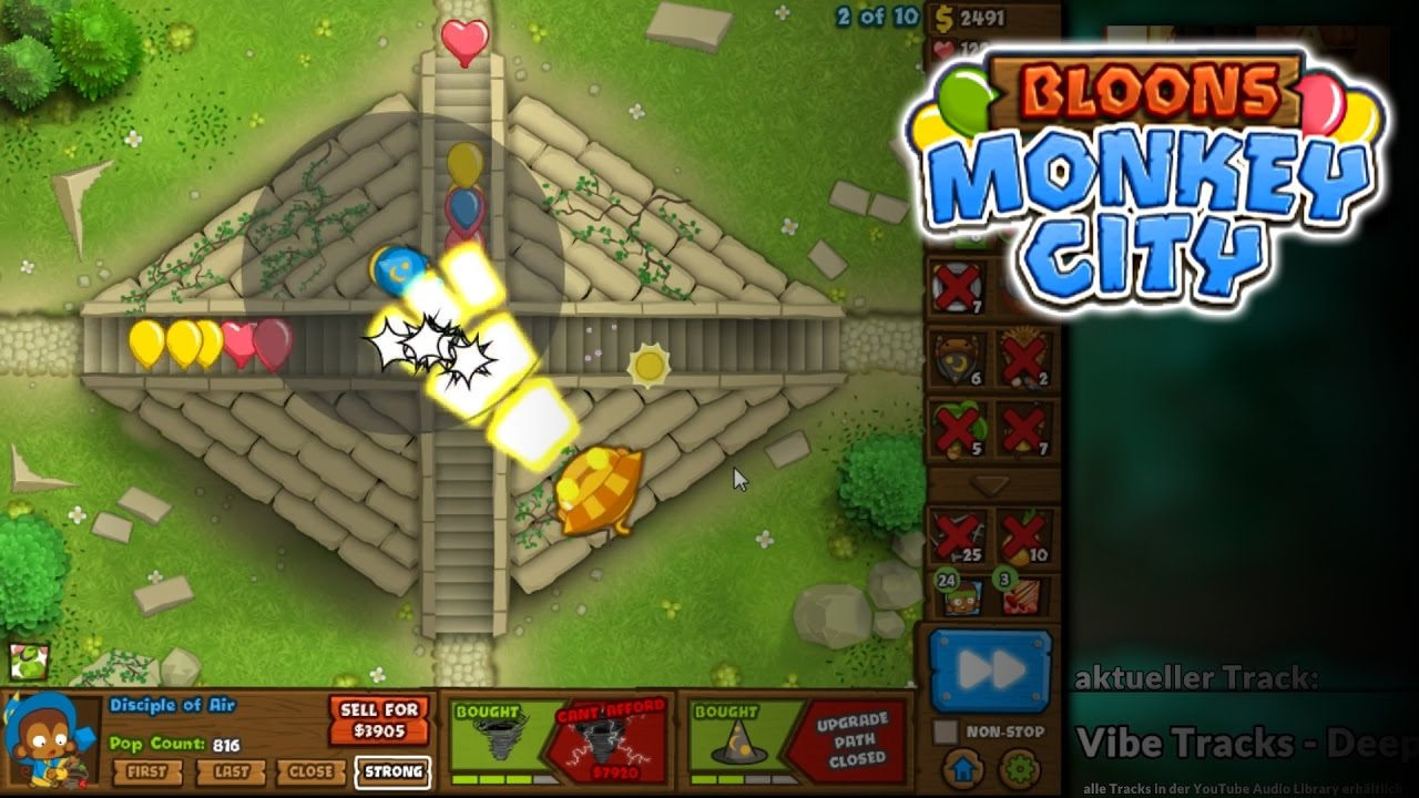 Kongregate bloons monkey - Consecrated Ground Bloons Monkey City 27 German