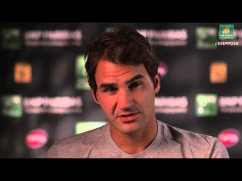 2015 Roger Federer Wednesday Interview