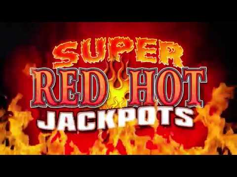 Super Red Hot Jackpots Slot Machine