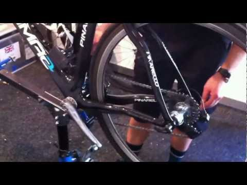 How to clean your bike and change SRM cranks by Team Sky