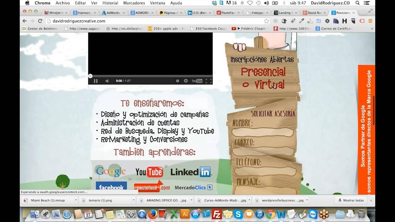 curso posicionamiento web, marketing digital, certificación googleyoutube tv live tv like never before