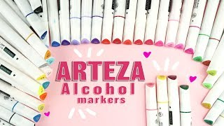 The Arteza alcohol markers ❤ Affordable Markers ❤  Best Cheap Markers for a Beginner