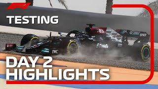 Day 2 Highlights | 2021 Pre-Season Testing