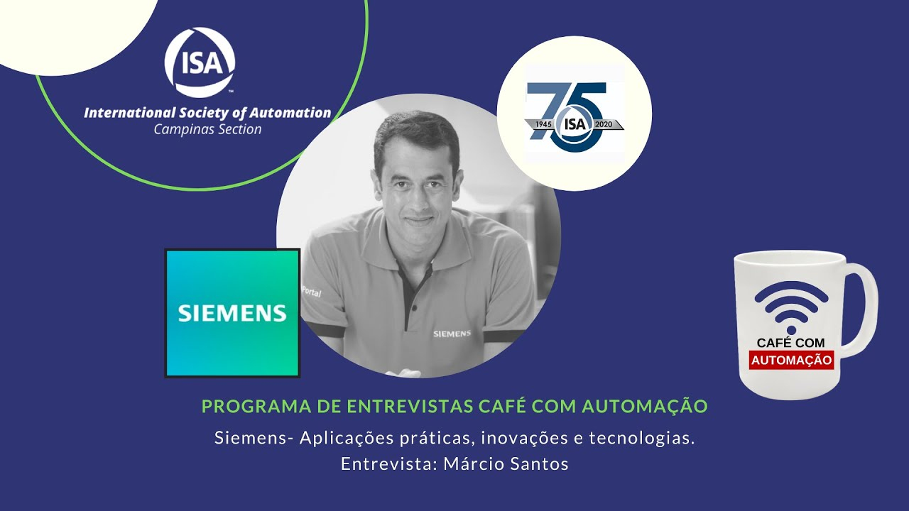 Café Com Automação - Marcio Santos - Siemens