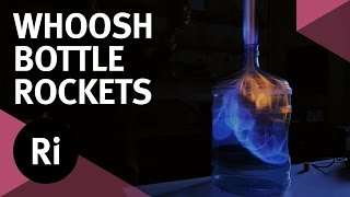 Flaming Bottle Rockets - Tales from the Prep Room Whoosh Bottle Experiment