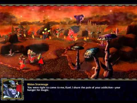 Illidan Story - Warcraft III
