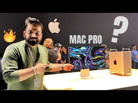 Apple Mac Pro First Look With Pro Display XDR - Insane Computing Power 🔥🔥🔥