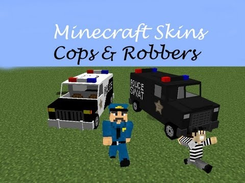 Minecraft Skins Top 12 Cops And Robbers Minecraft Skins!