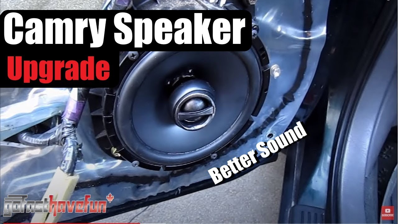 Builds Toyota Camry Speaker Upgrade Hd Anthonyj350