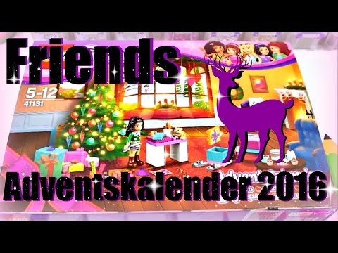 lego friends adventskalender 2016 alle 24 t rchen. Black Bedroom Furniture Sets. Home Design Ideas
