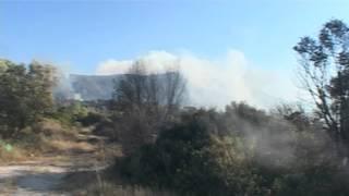 Πυρκαγιά στο Μαρκόπουλο