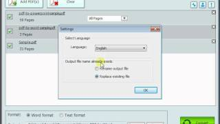 How to convert pdf to word with Simpo PDF to Word
