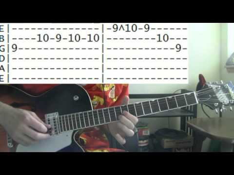 guitar lessons online Blind melon no rain tab - YouTube