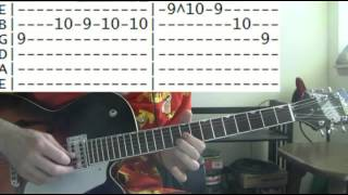 guitar lessons online Blind melon no rain tab