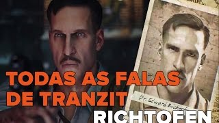 Cod Bo2 Zombies - Todas as falas do Richtofen no mapa Tranzit