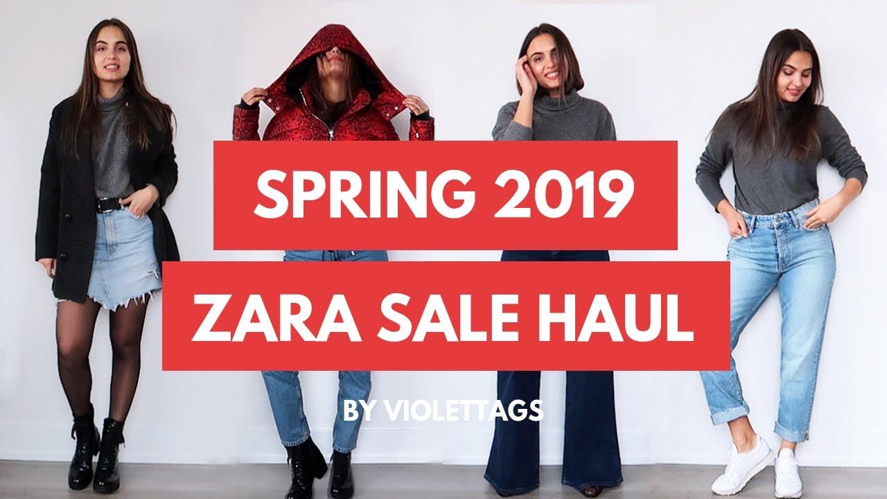 zara sale try on haul winter sale 2019 violettags. Black Bedroom Furniture Sets. Home Design Ideas