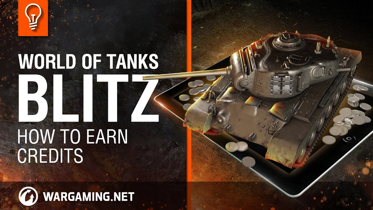 Wot Blitz How To Earn Credits Youtube
