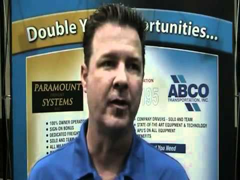 Trucking Jobs at ABCO and PFS—Expedite Expo 2011