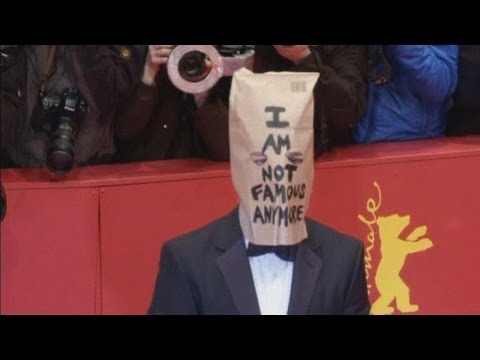 Shia LaBeouf wears paper bag over his head on Berlin red carpet for Nymphomaniac premiere